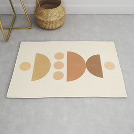 Abstraction_SUN_MOON_SHAPE_POP_ART_Minimalism_002M Rug