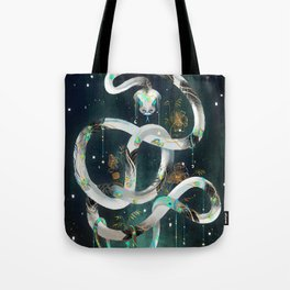 The Rainbow Serpent Tote Bag