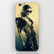 Beauty Echoes iPhone & iPod Skin