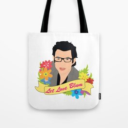 Let Love Blum Tote Bag