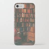 library iPhone & iPod Cases featuring library by Taylor Yocom
