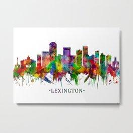 Lexington Kentucky Skyline Metal Print