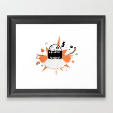 Mr wideo1 Framed Art Print