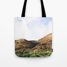 Malibu Mountains Tote Bag