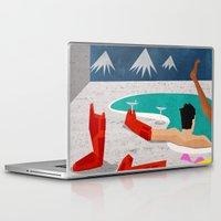 mod Laptop & iPad Skins featuring Iron-Mod by modHero