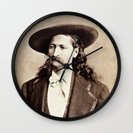 Wild Bill Hickok Wall Clock