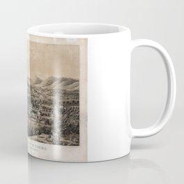University of Virginia, Charlottesville & Monticello (1856) Coffee Mug