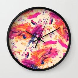 Rowen Finger Painting Wall Clock