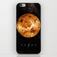 venus iPhone & iPod Skins featuring VENUS by Alexander Pohl