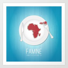 Famine Art Print