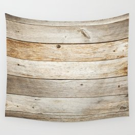 Rustic Barn Board Wood Plank Texture Wall Tapestry