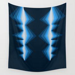 Deep Blue Wall Tapestry