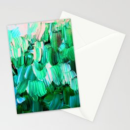 Moon Feathers Stationery Cards