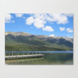Westport, New Zealand. Canvas Print