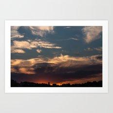 Lyon Sky  Art Print