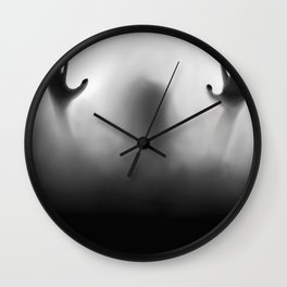 Claustrophobia Illustration Wall Clock