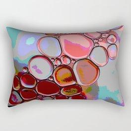 Pink Pebbles Rectangular Pillow
