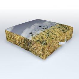 on a meadow Outdoor Floor Cushion