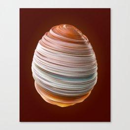 Steamed Egg Canvas Print
