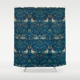Bird by William Morris, 1878 Shower Curtain