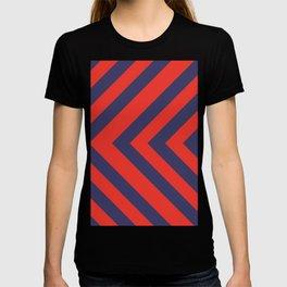 Patriotic pattern T-shirt