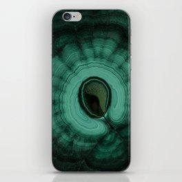 Malachite detailed pattern iPhone Skin