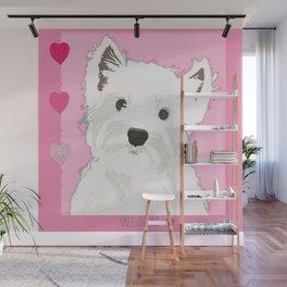 West Highland Terrier Wall Mural
