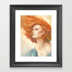 Pepper Breeze New Framed Art Print