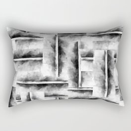geometric ink Rectangular Pillow