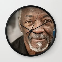 The Wise Old Man Wall Clock