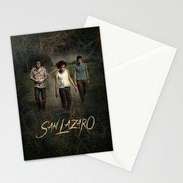 San Lazaro movie poster Stationery Cards