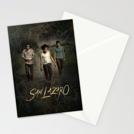 San Lazaro movie poster Stationery Cards