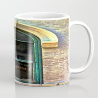 the office Mugs featuring Law Office by Biff Rendar