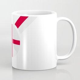 English flag soccer team jersey Coffee Mug