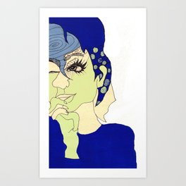 all this time away, you're still on my mind Art Print