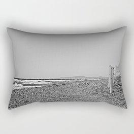 Seaside Stroll Rectangular Pillow