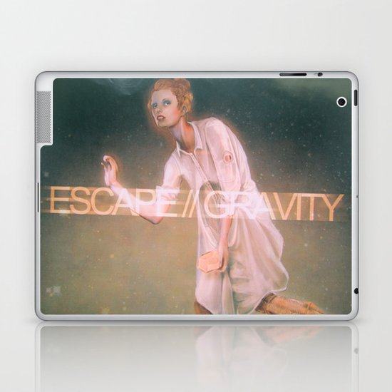 Escape Gravity And Into Space Laptop & iPad Skin
