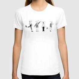 Chicken Dance The Night Alway  T-shirt