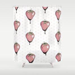 Strawberry Heaven Shower Curtain