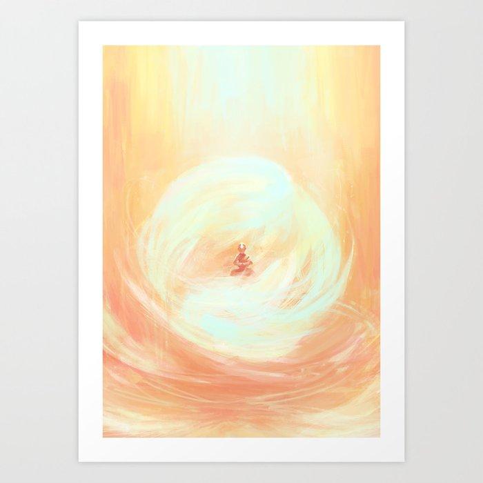 Airbender Kunstdrucke