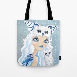 Owl Duchess Tote Bag