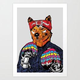 Shiba - The Hustler Art Print