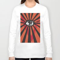 movie posters Long Sleeve T-shirts featuring Vendetta Alternative movie poster by Sassan Filsoof