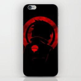 Red Uchiha Sasuke iPhone Skin