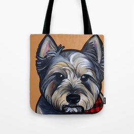 Rigoletto the cairn terrier Tote Bag