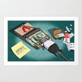 The Rat Trap Art Print