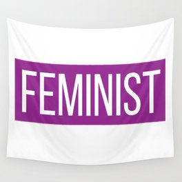 FEMINIST Wall Tapestry