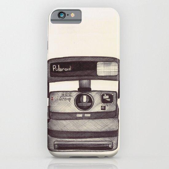 Ballpoint Palaroid Camera iPhone & iPod Case