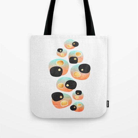 Tropical Pebbles Tote Bag