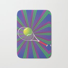 Tennis Ball and Racket Bath Mat